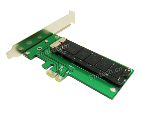 2013-2015 MacBook Pro +Air SSD to PCI-e 1X adapter